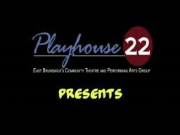 Playhouse 22: GUYS & DOLLS