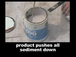 Paint strainer/Brush Support