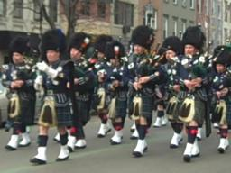 Pipers at the St. Patrick's Day parade in Hoboken