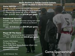 The Buchtel Griffins Promo