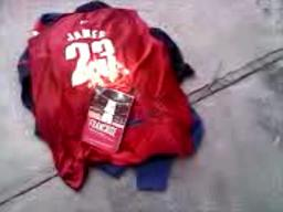 Cavs fan burns LeBron jersey and book