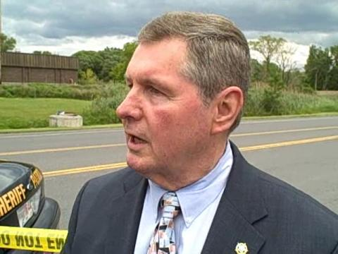 Sheriff Walsh talks about chase