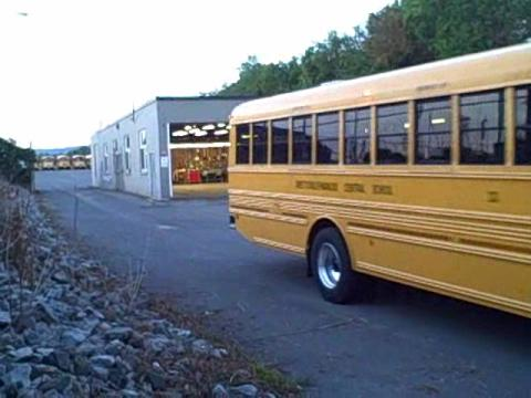 First day for F-M bus drivers