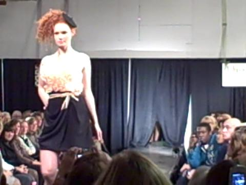 Jennifer Diederich designs at Syracuse Stage Fashion Show 