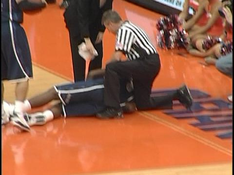 Kristof Ongenaet's elbow and ejection vs. Georgetown