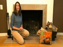 Tips for building a quick and easy fire in a fireplace
