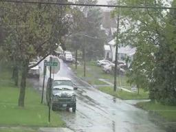 Snow May 9th in Syracuse New York