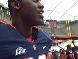 Chandler Jones at Syracuse Football Media Day