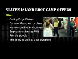 staten Island Boot Camp