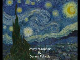 Family / Valley of Dreams / A Tribute to Vincent Van Gogh