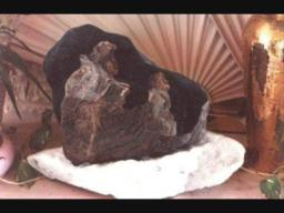 Family / Magdalenian Stone Art / Discovered and Created by Denn