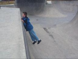 What kids do at skate parks
