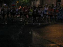 2009 Portland Marathon Wave 1 Start