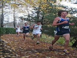 2009 Borderclash - Boys race near finish