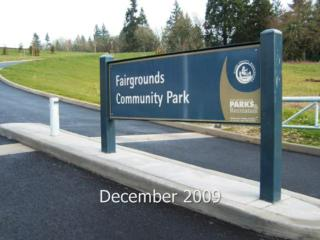 Fairgrounds Community Park in Clark County
