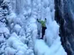 Lancaster Falls Ice Climbing