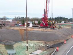 I-5/SR 501 Interchange construction