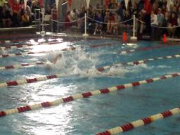 2010 OSAA Swimming State Championships: Central Catholic's Will Gunderson 100 Back