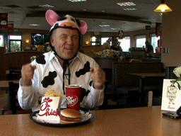 Cow-Clad Customers Get Free Chick-fil-A Meals