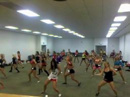 Portland Winterhawks Rosebuds Dance Team Audition 2010