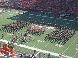 OSU Marching Band plays Lady Gaga's