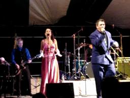 Louis Prima Jr. at Gretna Heritage Fest