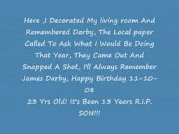 Remembering James Darby