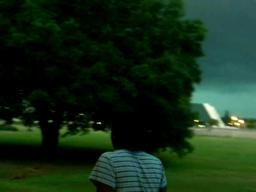 Tornadic Storm in Hammond