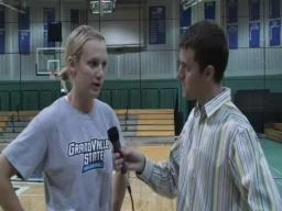 GVSU Volleyball 10-28-09 Interviews