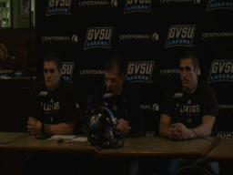 GVSU Football Press Conference 10-19-09
