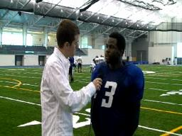 GVSU Football Interviews 10-28-09