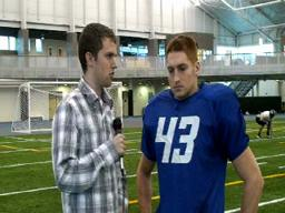 GVSU Football Interviews 11-4-09