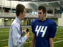 GVSU Football Interviews 11-18-09