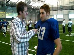 GVSU Football Interviews 12-8-09