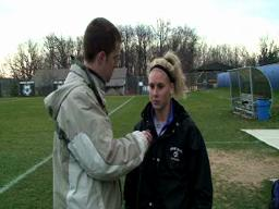 GVSU women's soccer interviews 11-17-09