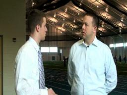 Interview with GVSU head football coach Matt Mitchell