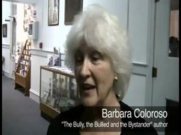 Barbara Coloroso Talks About Bullying