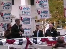 Baker Rallies Supporters in Springfield
