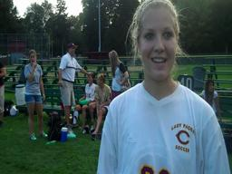 Natalie Laurin and Jordan Bates talk about Chicopee's late game rally against Frontier