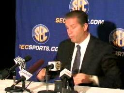 Kentucky basketball coach John Calipari