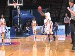 J.F. Shields's Tyika Robinson converts layup and foul shot attempt