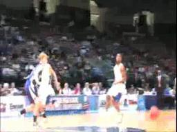 Houston County's Tyreek Granger gets the tip dunk
