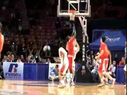 Homewood's Jeremy Watson dunks in 6A title game off a Marvin Whitt assist