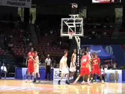 Greene County's Pierre Crawford dunks on Madison Academy in 3A title game