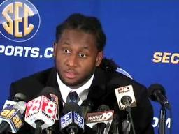 LSU's Kelvin Sheppard speaks at SEC Media Days