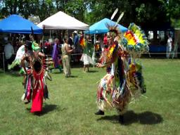 Native American powwow at Ditto Landing