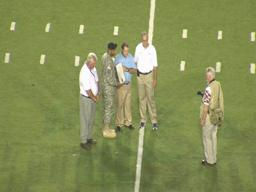 Son of Spain Park assistant coach Kenneth Hand honored for service at al.com Champions Challenge