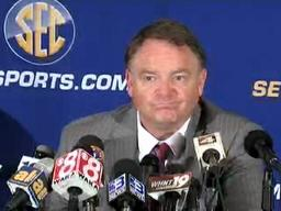 Ole Miss' Houston Nutt speaks at SEC Media Days