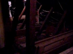 The Lalaurie house attic