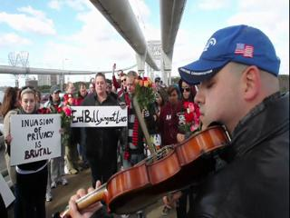 Tribute to Tyler Clementi at the George Washington Bridge